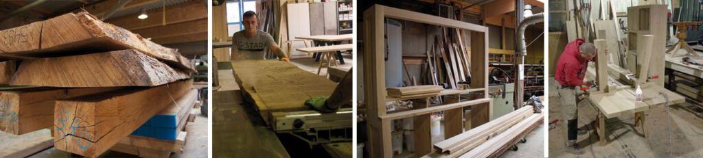 Op zoek naar een mooi eiken meubel op maat? Wij maken uw tafel of kast op maat! Kom inspiratie opdoen in onze Woonwinkel.