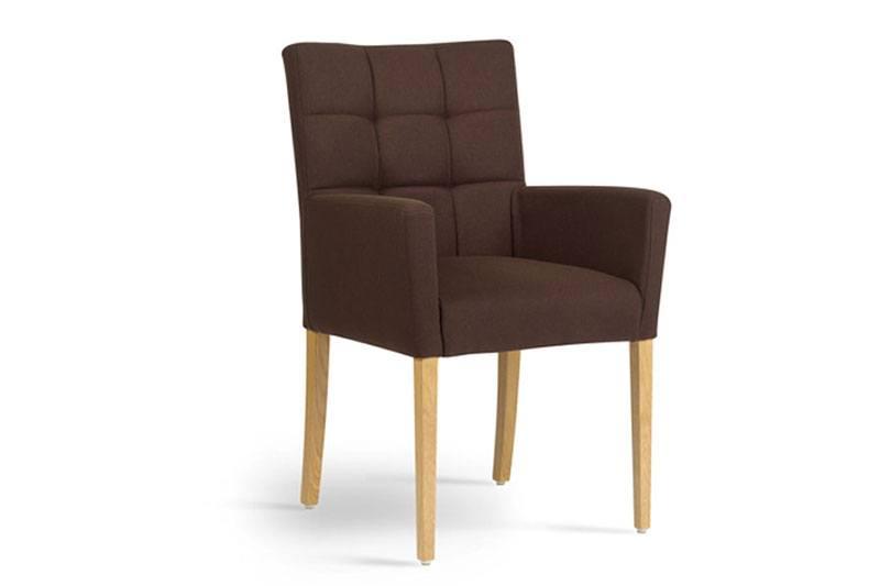 Mobitec eetkamerstoel Carré met armleuning. Nieuwe eetkamerstoelen, projectstoelen of barkrukken nodig? Kom inspiratie opdoen in onze Woonwinkel.