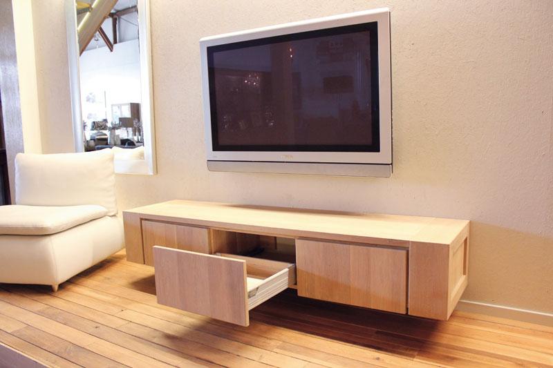 Hangend eiken tv meubel Jorn : Sessink Wonen Gendt : Wij produceren uw ...