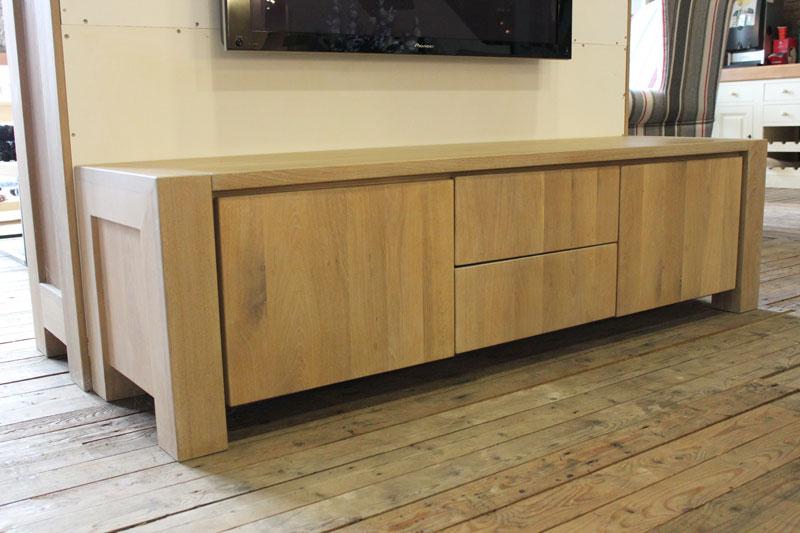 Eiken tv meubel jorn dé eiken maatwerk specialist gendt gld