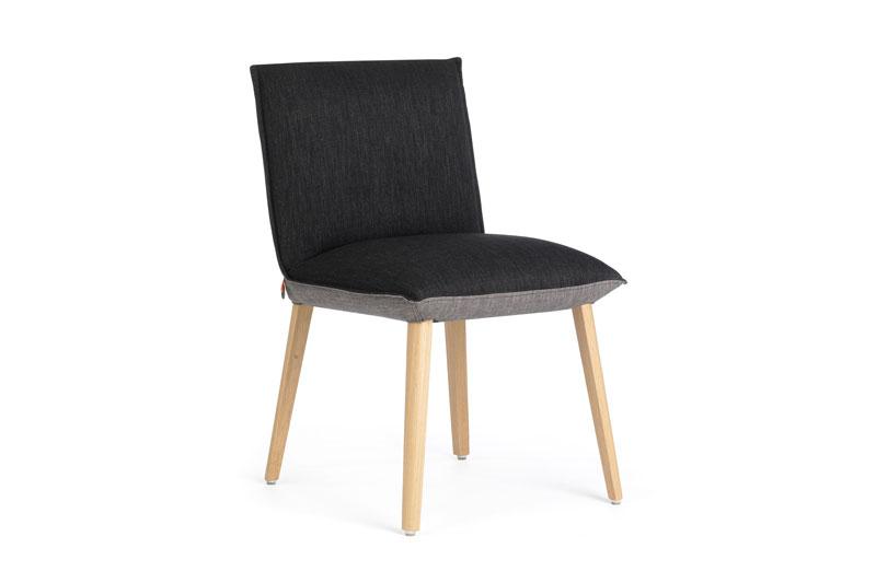 Mobitec eetkamerstoel Soft zonder armleuning. Nieuwe eetkamerstoelen, projectstoelen of barkrukken nodig? Kom inspiratie opdoen in onze Woonwinkel.