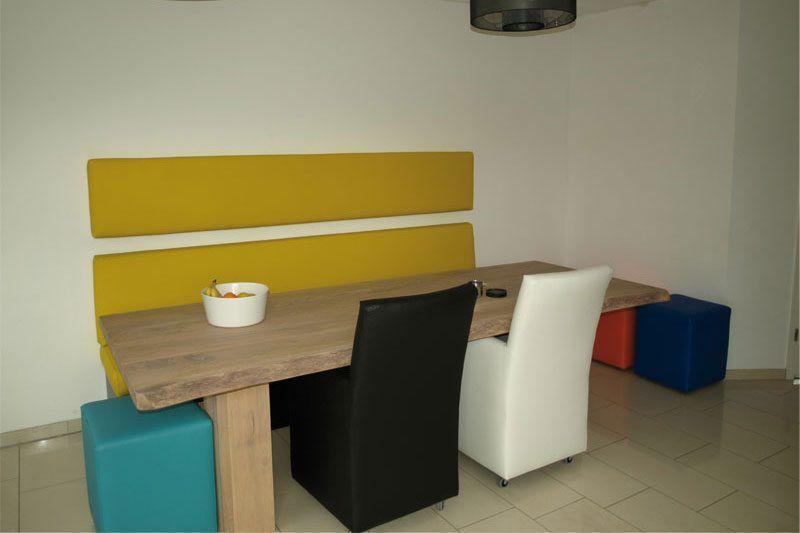 Zithoek keuken eigen ontwerp van de klant gemaakt in for Ontwerp je eigen keuken