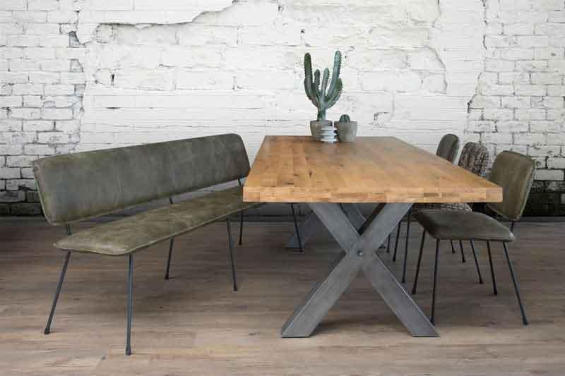 eettafel bank conga - bank & stoel & tafel > meubelmakerij gendt