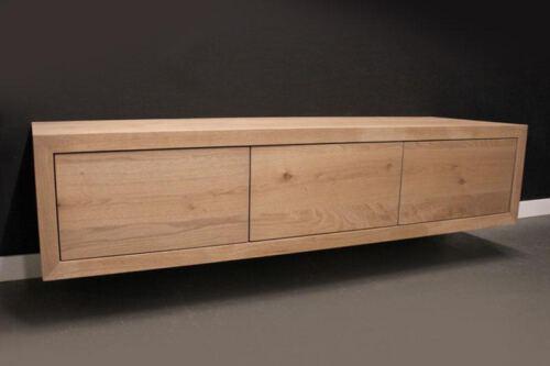 Eiken TV meubel Joost zwevend. Op zoek naar een mooi eiken zwevend tv meubel. Wij maken uw tv-meubel op maat! Kom inspiratie opdoen in onze Woonwinkel te Gendt regio Nijmegen.