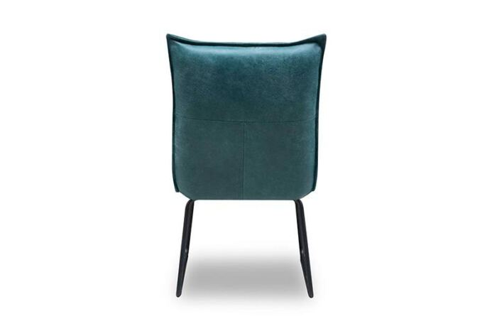 Eetkamer stoel Mabel van leverancier Mobitec. Diverse afmetingen en kleuren mogelijk. Een nieuwe eetkamer stoel? Kom inspiratie opdoen in onze Woonwinkel en Meubelmakerij te Gendt, regio Arnhem en Nijmegen.